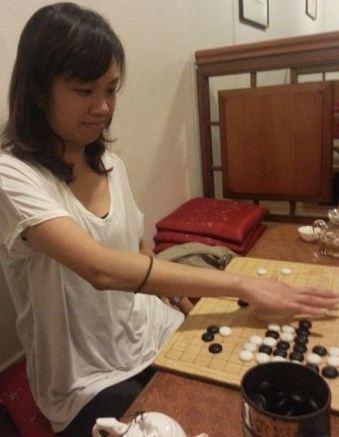 Michelle Liu, weiqi